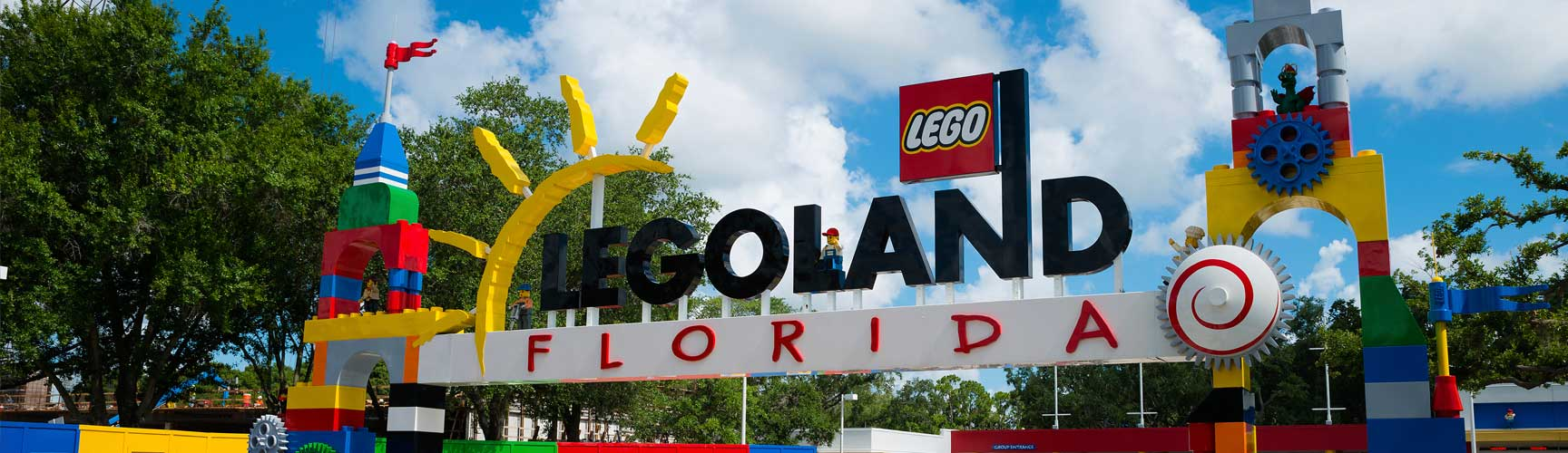LegoLand Florida Is Minutes Away.